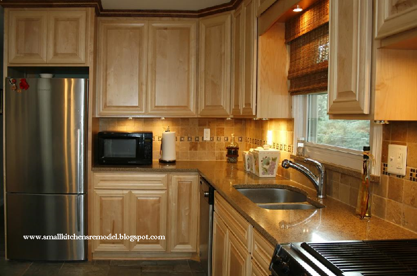 Kitchen remodeling small kitchen remodel small kitchen for Cupboard renovation ideas
