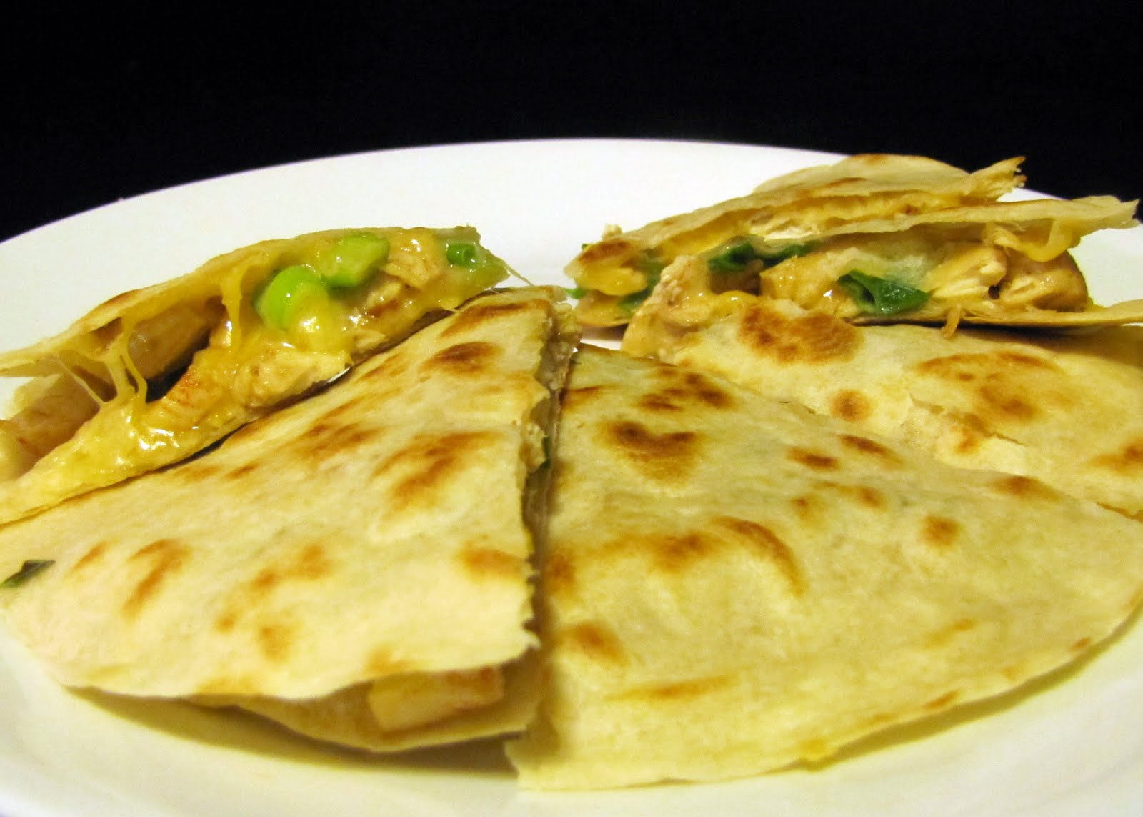 Smells Like Food in Here: Grilled Chicken Quesadilla