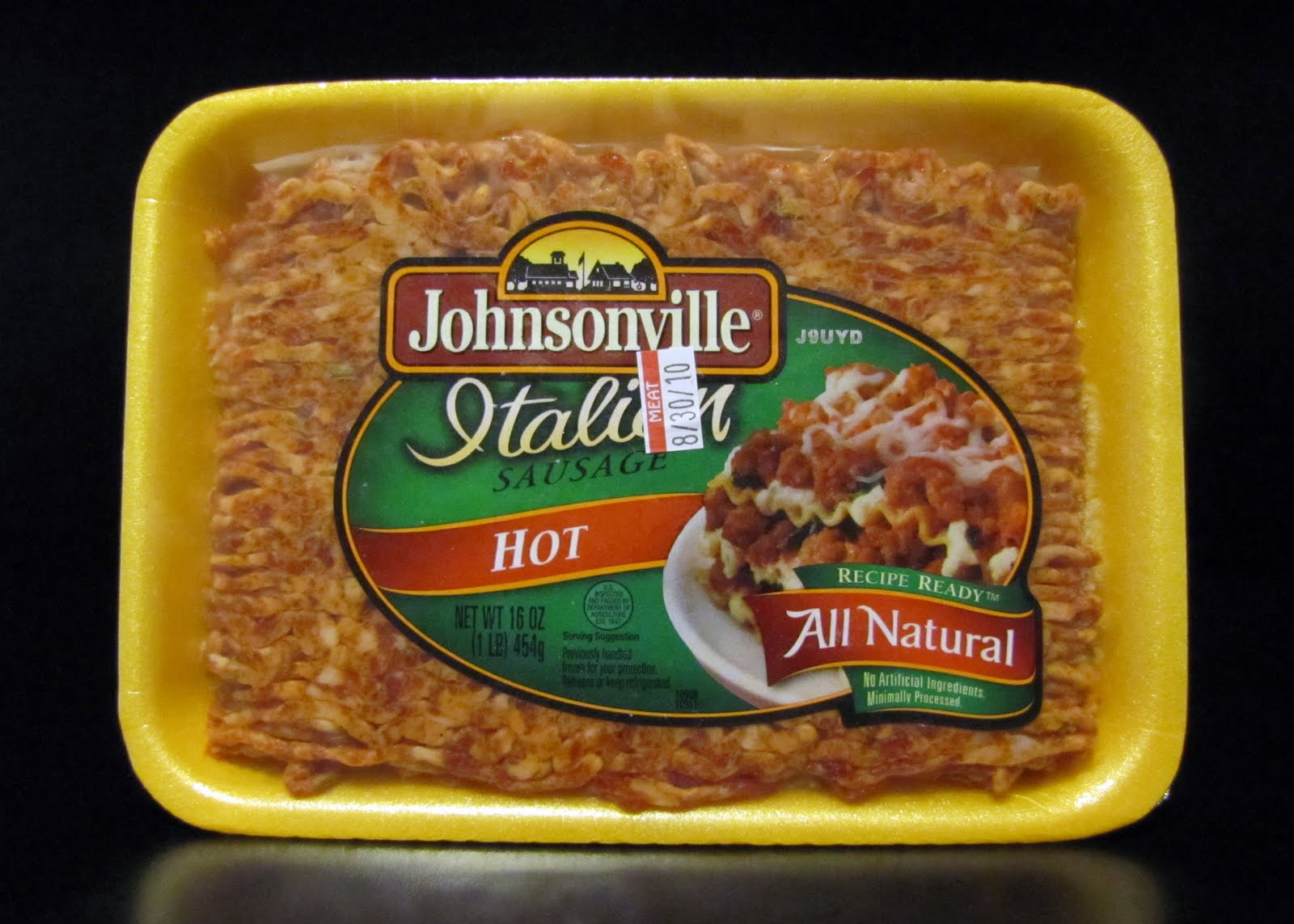 Smells Like Food in Here: Johnsonville Hot Italian Sausage