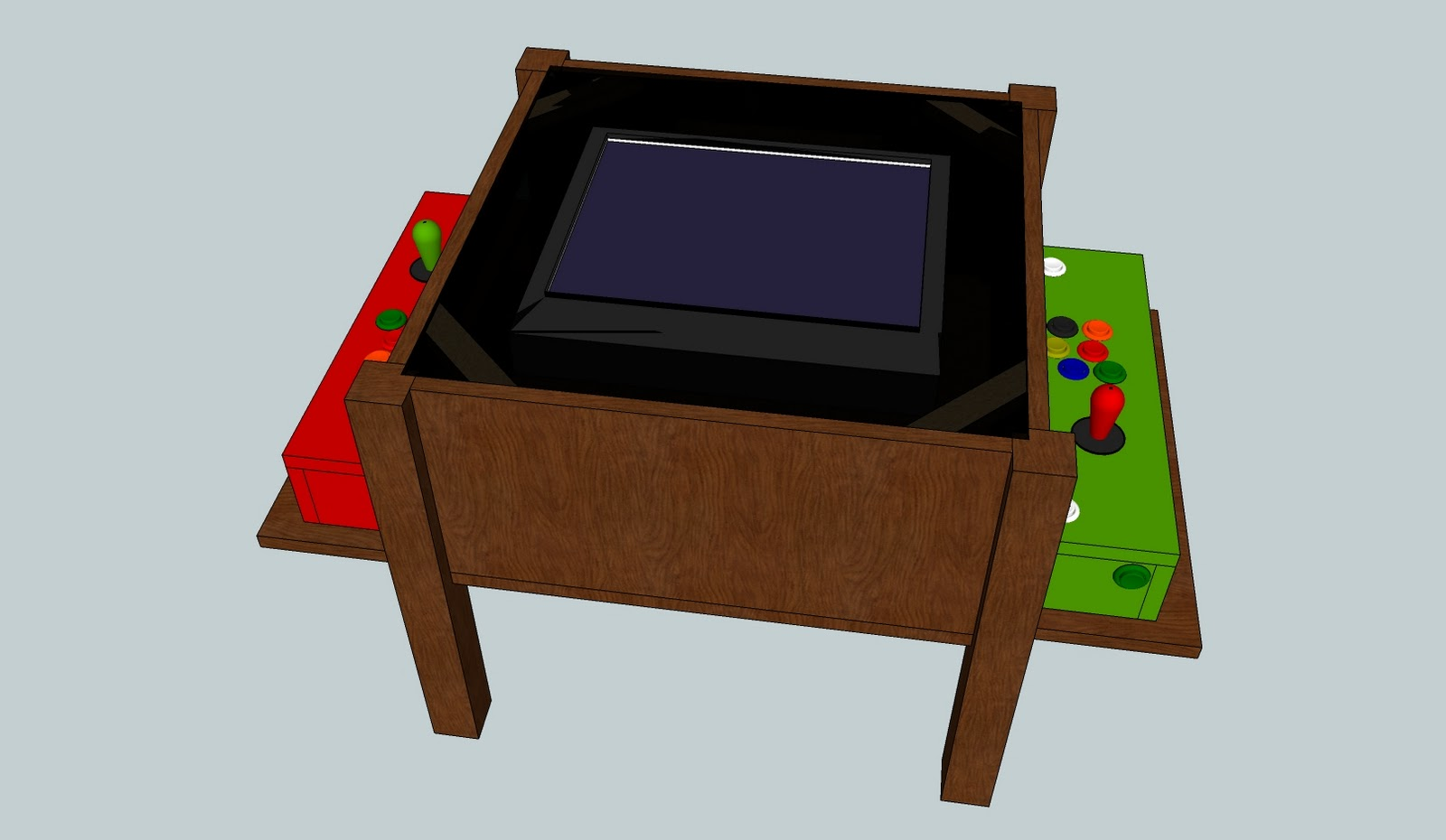 Diy Arcade Coffee Table