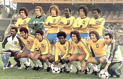 Foto seleo brasileira 1978 84