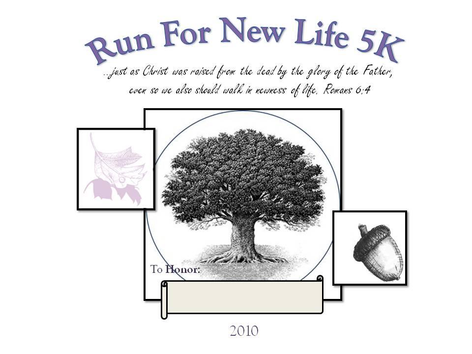 Jonathan 39 S Journey Run For New Life 5k