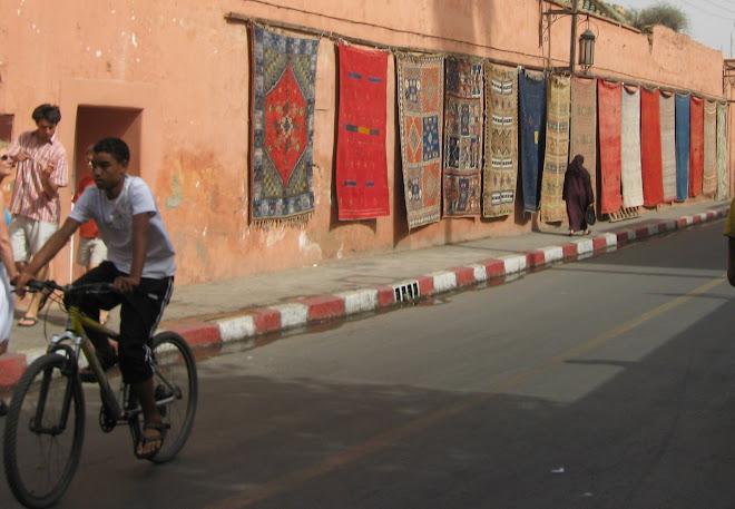 Alfombras en Marrakech