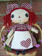 Primitive Apron Annie $12.99