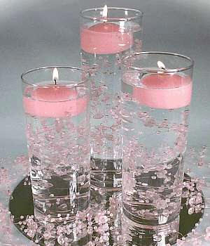 Simple Candle Wedding Centerpieces | Wedding-