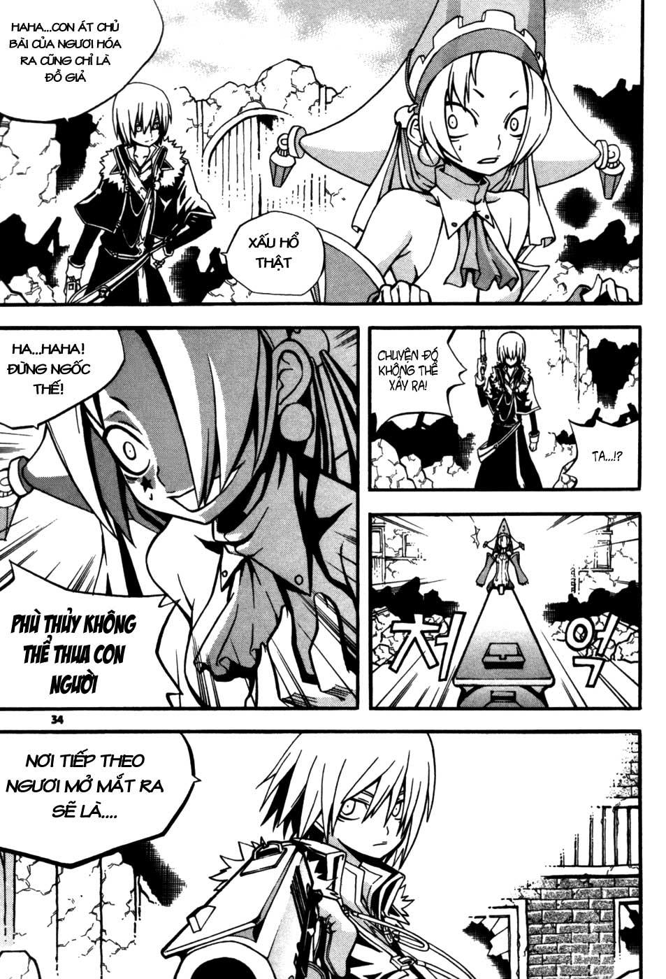 Witch Hunter – Thợ Săn Phù Thủy chap 9 page 34 - IZTruyenTranh.com