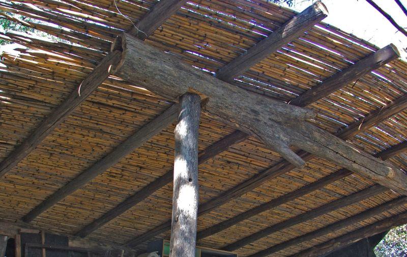 Techo de ca as ramada panchara for Modelos de techos para galerias