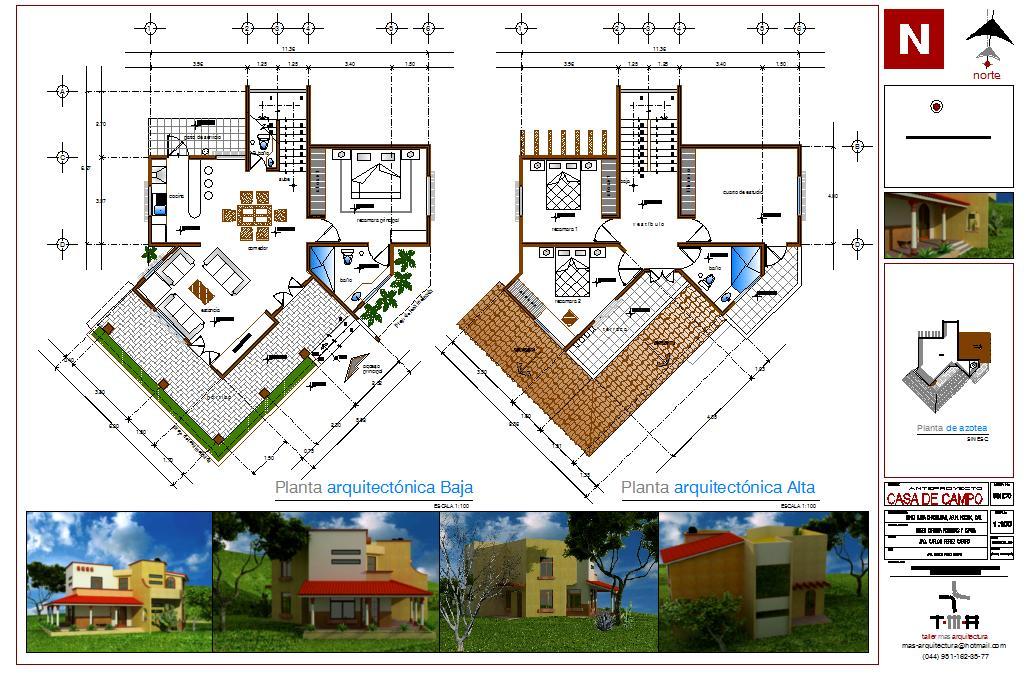 Taller mas arquitectura casa de campo - Mas arquitectura ...