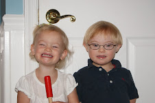 Logan and Maddie-First Day of School