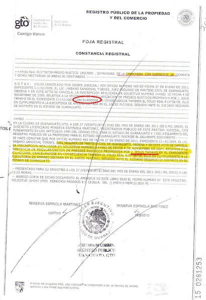 El Frente Cívico ayuda a recuperar 88 Has del Ejido de Calderones