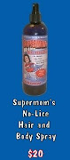 Supermom's No-Lice Hair and Body Spray