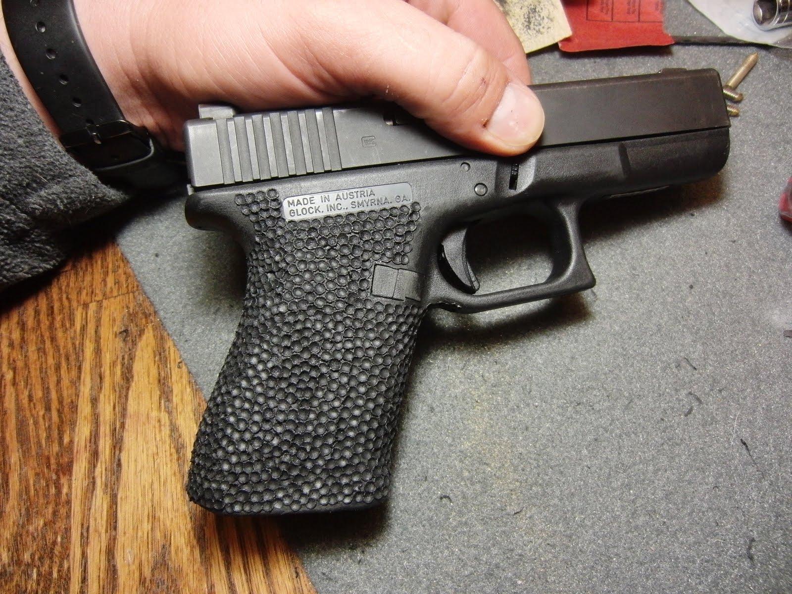 any regrets diy heat stippling on polymer handguns. Black Bedroom Furniture Sets. Home Design Ideas