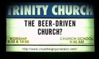 The Beer-Driven Church?