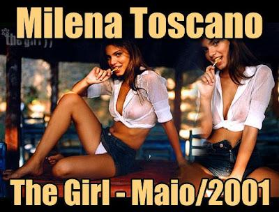 Milena Toscano nua pelada
