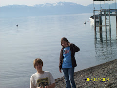 Suzanne and Mitch at Lake Tahoe