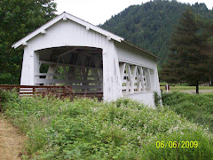 Covered bridge in Oregon
