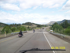 Bikers going into Oregon