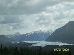 Matanuska Glacier, on Glenn Hwy