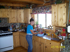 Phyliss in her kitchen