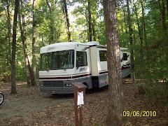 Camping at Chemin-A-Haut