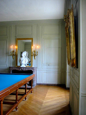 Petit trianon billiard and guard 39 s rooms art architect for Trianon plan salle