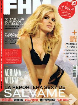 Adriana Abenia FHM España Septiembre 2010