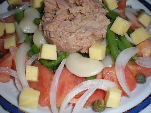 Las recetas de mi casa ensalada de judias verdes - Como preparar las judias verdes ...