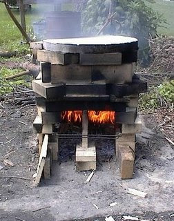 plans for wood fired kiln