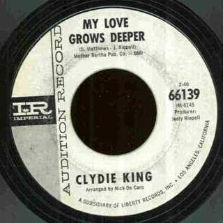 Clydie King Missin My Baby My Love Grows Deeper