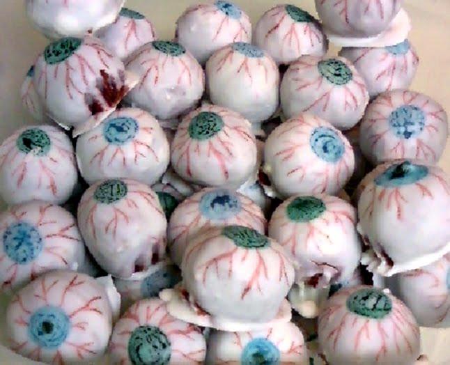 Red Velvet Cake Eyeballs EDT 39s Count Down To Halloween