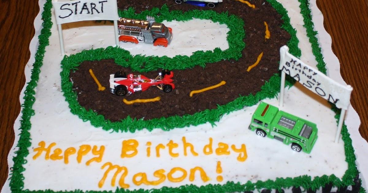 My Cake Art Elizabethton Tn : teresa s sweet boutique: Mason s Race Track