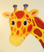 giraffe mural
