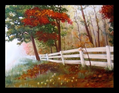 Nature Paintings Images on Abstraction Through Nature Sources In Oil Painting