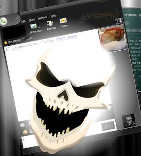 Upgrade tampilan Yahoo Messenger! dengan download SweetIM gratis
