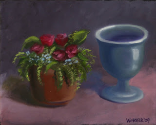 Still Life Painting - Daily Painting Blog - Original Oil and Acrylic Artwork by Artist Mark Webster