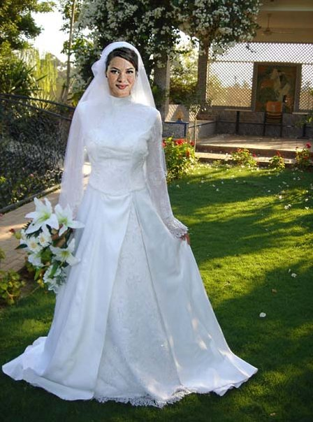 Turkish Wedding Dress 43 Beautiful Islamic Dresses with Hijab