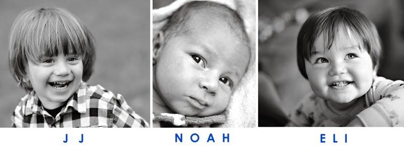 JJ, Eli, and Noah