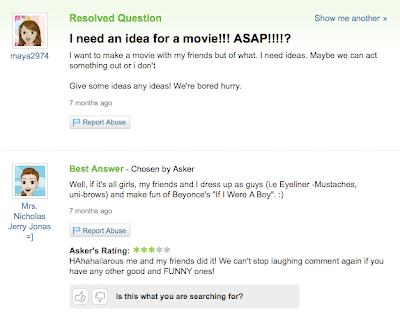 random funny questions. 2010 That funny random