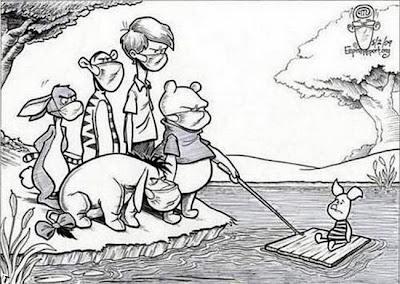 Винни Пух грипп карикатура