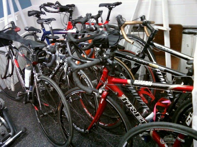 & Corporate Fitness Promotions: Bike Storage in My Office