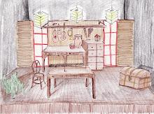 El taller del Luthier- Boceto