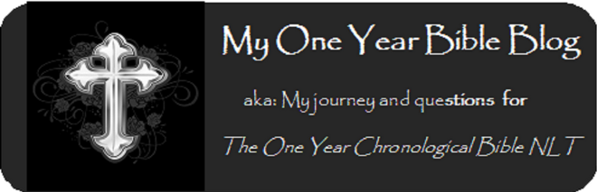 My One Year Bible Blog