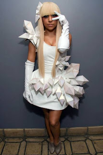 Lady Gaga's Dress - Origami Crystals (Part 2/2)