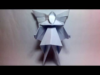 Origami Christmas Tree Fairy