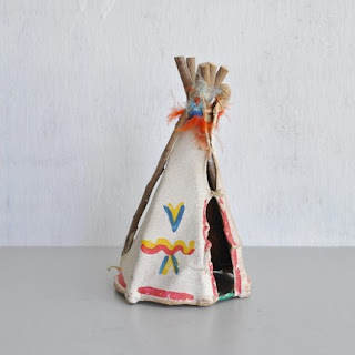 Origami Tepee or Indian Tent - Origami Thanksgiving