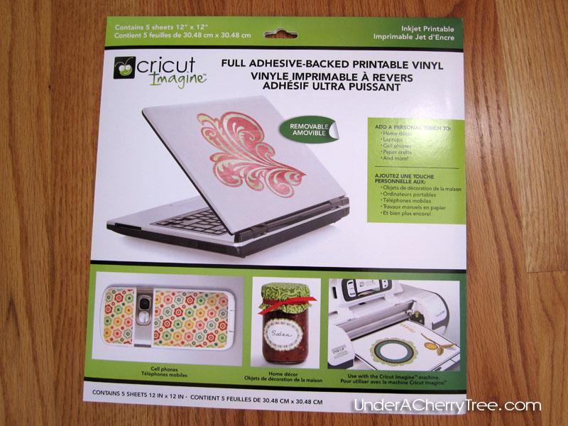 Clean image regarding cricut printable vinyl