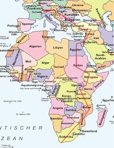 Route Afrikareise