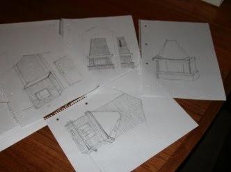 tradisjonell forskaling tegning