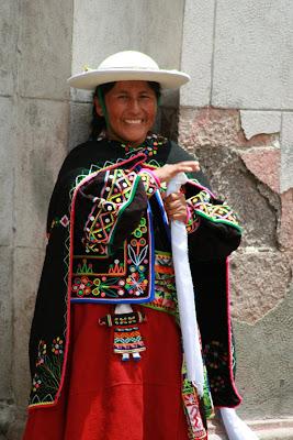 Mulher procura a paz, bolívia