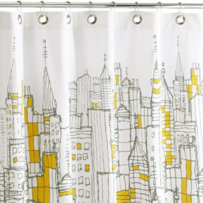 Curtains Ideas cityscape shower curtain : 2000 Dollar Budget Wedding: January 2010
